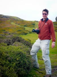 Me on Dartmoor
