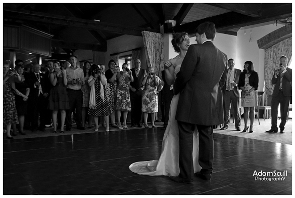 First Wedding Dance Cumberwell Park