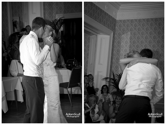 First dance Limpley Stoke Hotel