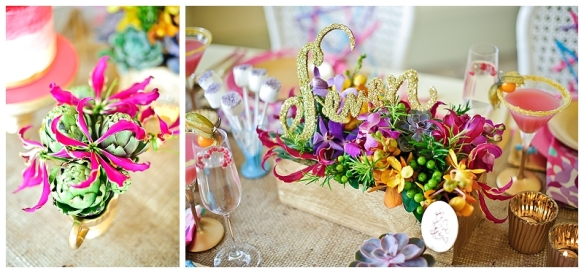 Colurful Wedding Table